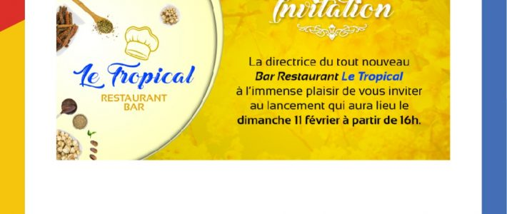 Conception d'une carte d'invitation